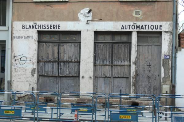 Ancienne blanchisserie automatique