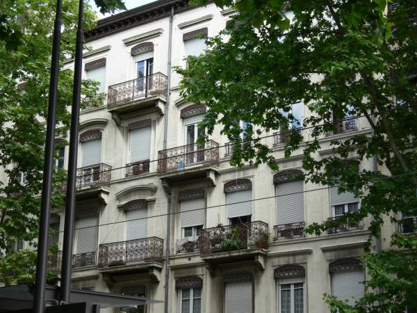 Immeuble cours Charlemagne