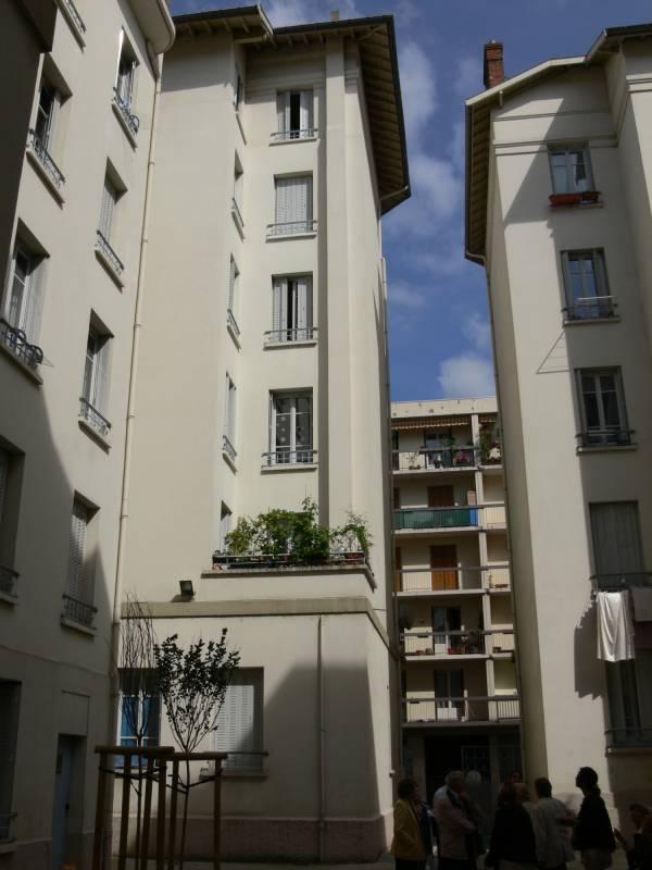 Quartier Perrache : immeubles d'habitation