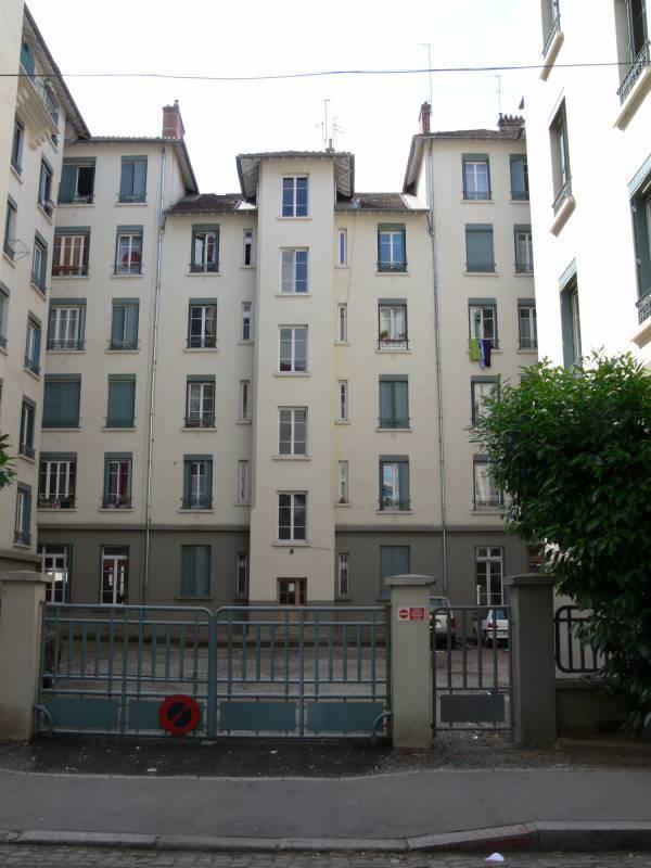 Quartier Perrache : ensemble d'immeubles d'habitation
