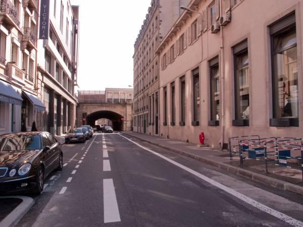 Voûte sur la rue Delandine