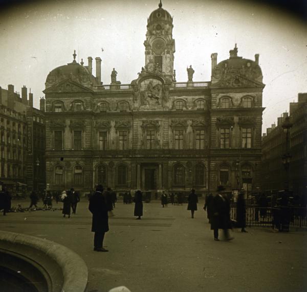 La place des Terreaux et Hôtel de ville de Lyon