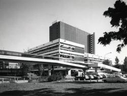 [Bibliothèque municipale La Part-Dieu, façade sud]