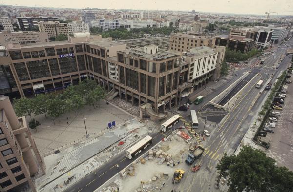 [Construction du tramway]