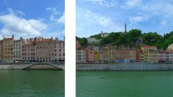 Face à face au fil de la Saône 01/9 : Le quai Saint-Vincent