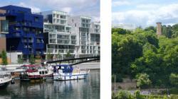 Face à face au fil de la Saône 07/9 : Le port de la Confluence