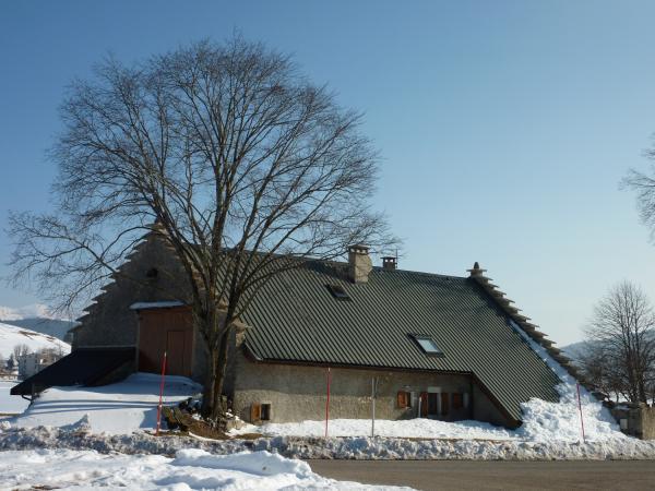 Maison typique des Quatre-Montagnes