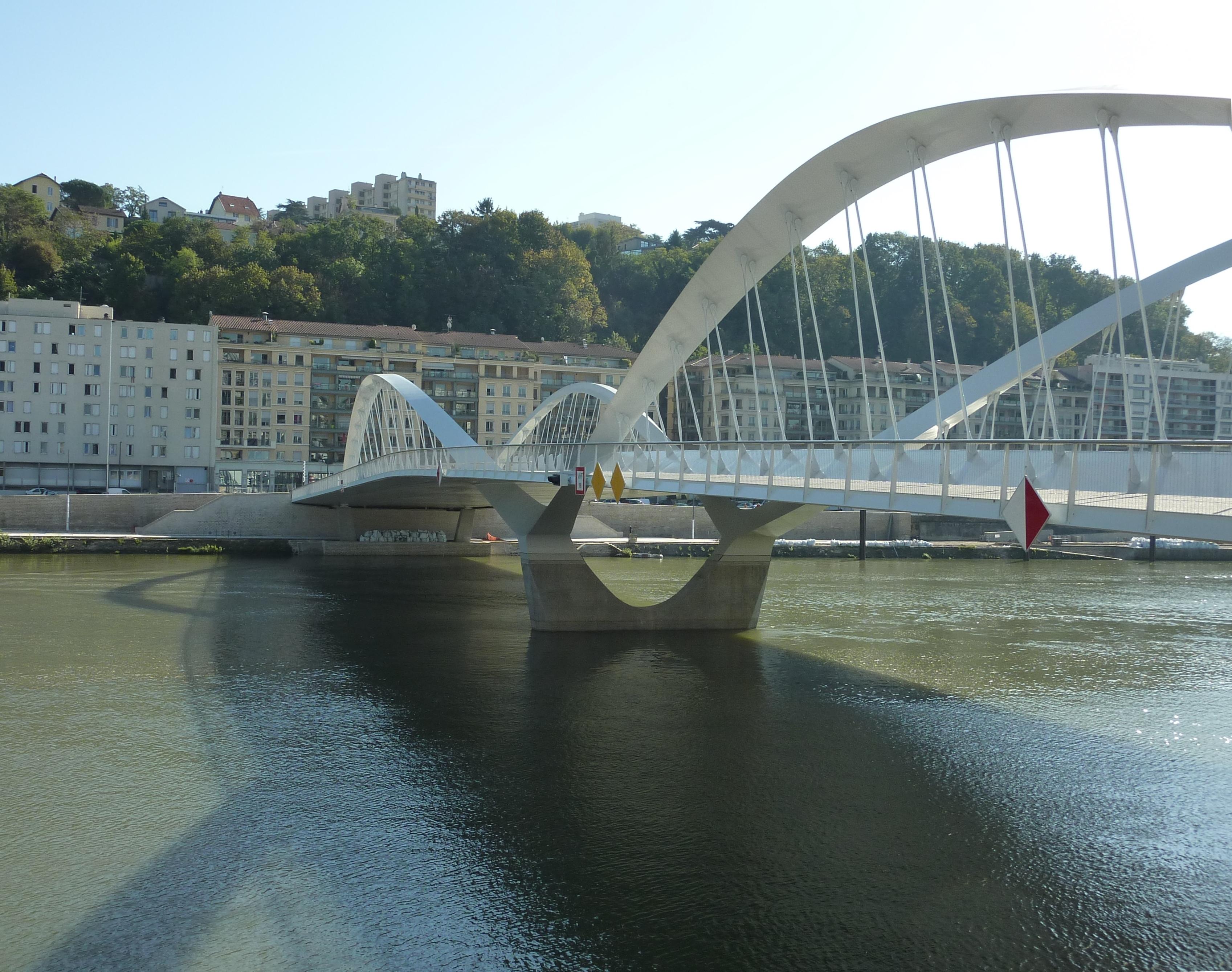 Photographes En Rhone Alpes Le Pont Robert Schuman