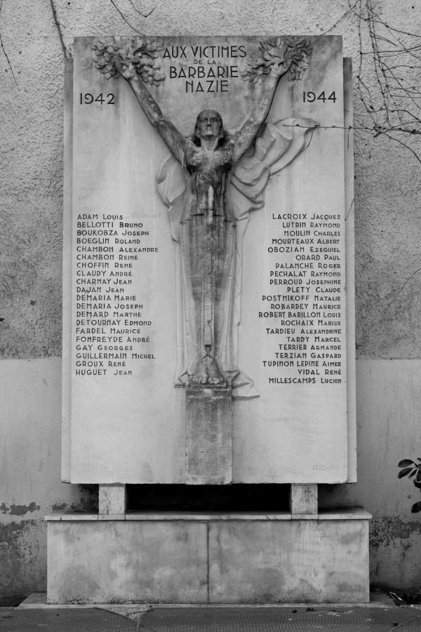 Monument aux victimes de la barbarie nazie (1942-1944)