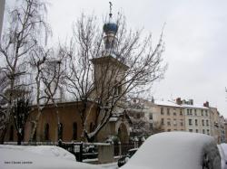L'Eglise orthodoxe sous la neige