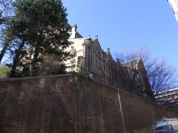 Eglise Saint-André depuis la montée Saint-Sébastien