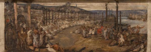 Un concours d'éloquence sous Caligula à Lyon (étude)
