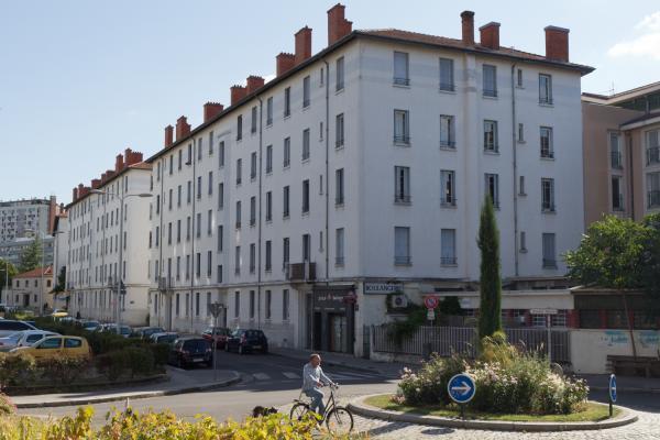 Cité Philippe-de-Lasalle à la Croix-Rousse