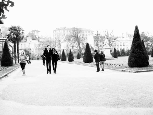 Parc de la Tête-d'Or, entrée par le Lycée du Parc
