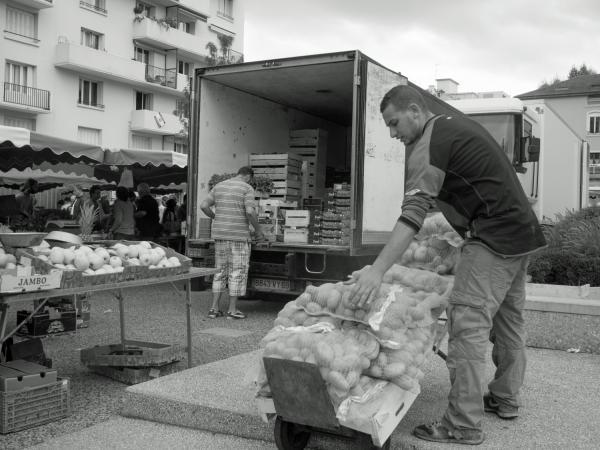Marché des Charpennes, Villeurbanne