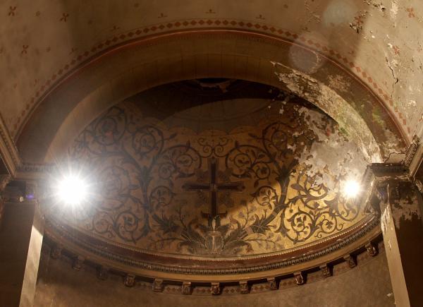 La Basilique Saint-Martin d'Ainay, chapelle Saint Joseph, abside