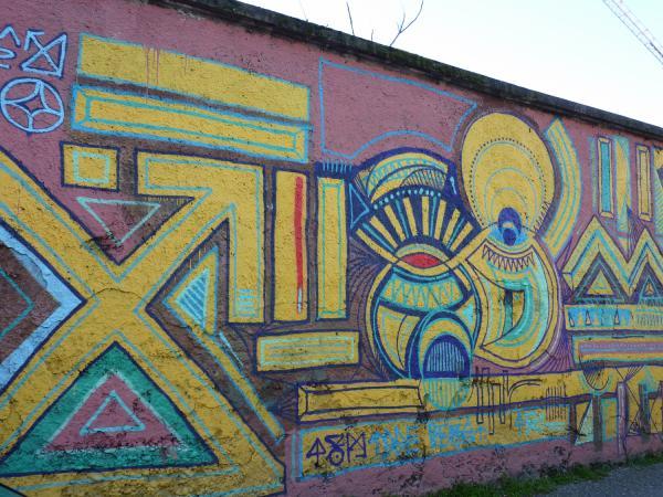 Graffiti rue Rochaix