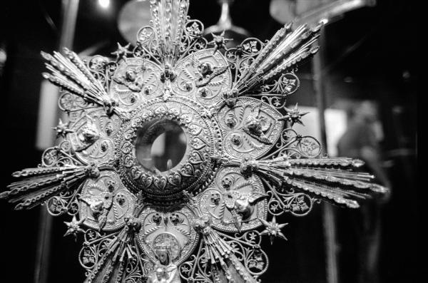 [Musée d'art religieux de Fourvière : exposition d'orfèvreries d'Armand-Calliat]