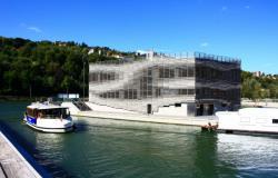 MJC Confluence Presqu'Ile et nouvelle Capitainerie, architecte François Texier