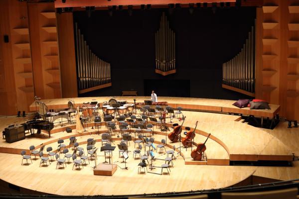 Scène de l'Auditorium