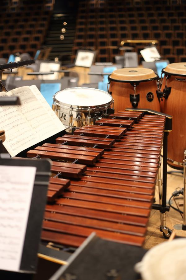 Marimba et percussions