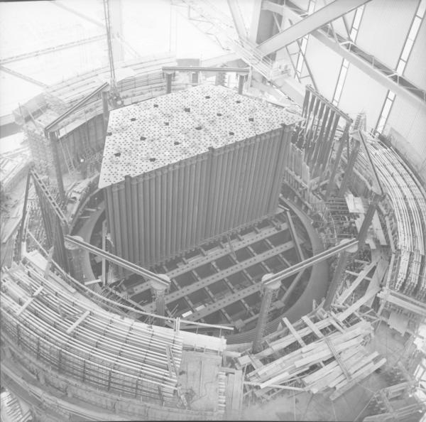 Construction d'une pile atomique dans l'Ain
