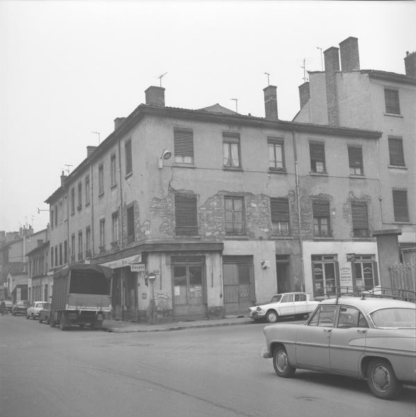 Rue L. Blanc et rue Vauban : Avant démolition