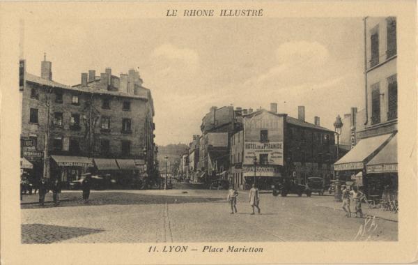Le Rhône Illustré : Lyon ; Place Marietton