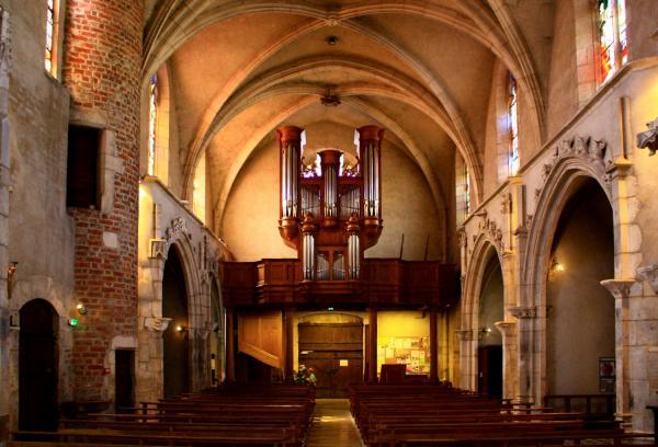 Châtillon-sur-Chalaronne, église Saint-André et Saint-Vincent-de-Paul, orgue