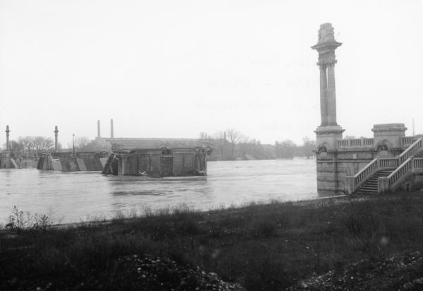 Pont Pasteur sur le Rhône