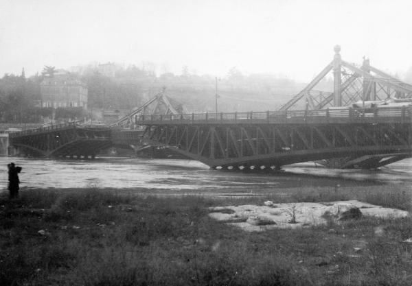 Pont de la Mulatière sur la Saône