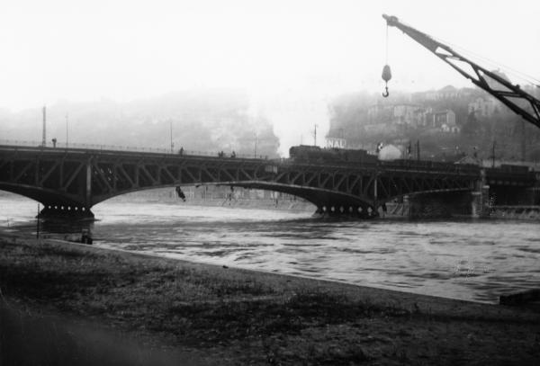 Viaduc de Perrache sur la Saône