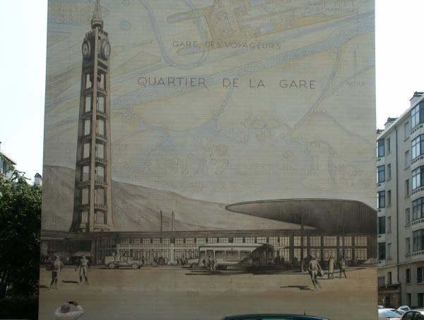 [Musée urbain Tony Garnier, Lyon 8e, gare]