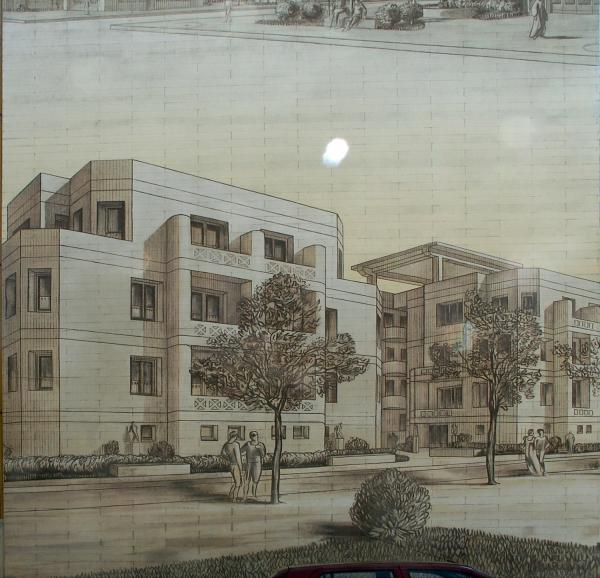 [Musée urbain Tony Garnier, Lyon 8e, habitations]