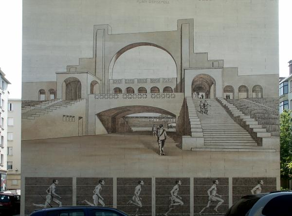 [Musée urbain Tony Garnier, Lyon 8e, stade de Gerland]