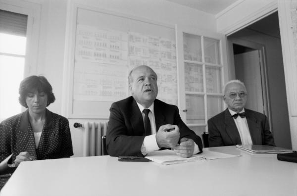 [Entretien avec Gilbert Chabroux, maire de Villeurbanne]