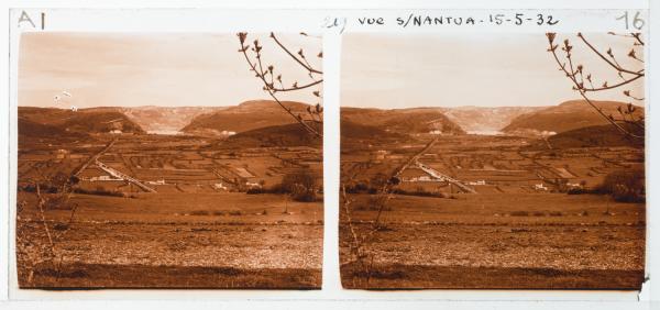 Vue de Nantua en montant à Nurieux - Le Bertiand