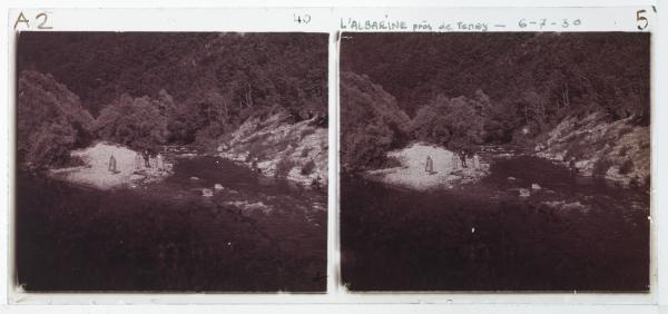 L'Albarine près de Tenay