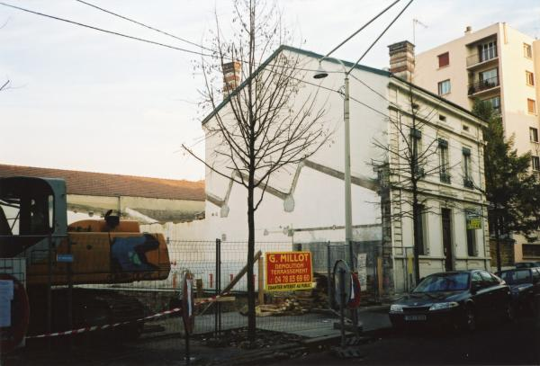 28, rue Roger-Salengro : villa de Fabiani