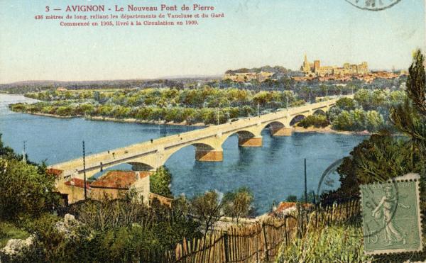 Avignon - Le Nouveau Pont de Pierre.