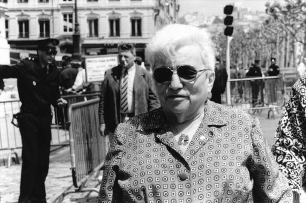 [Procès Klaus Barbie : Edith Müller-Klébinder, témoin du ministère public]