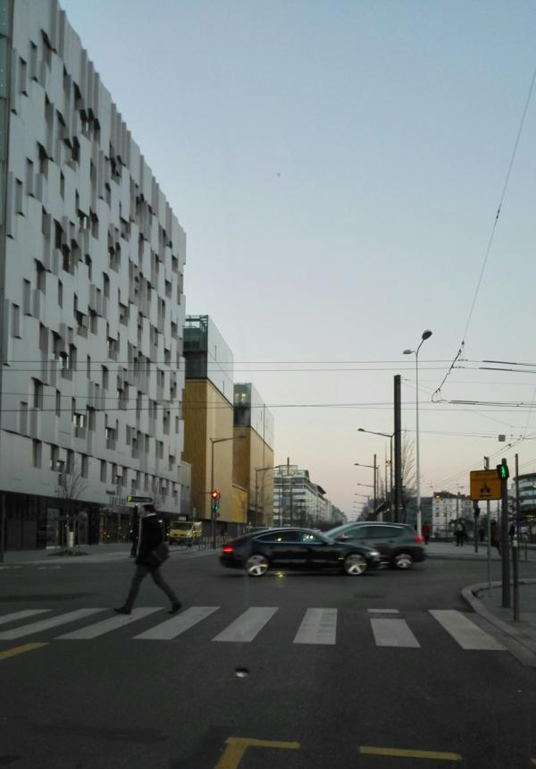 Réhabilitation de la rue des Archives Départementales et Métropolitaines
