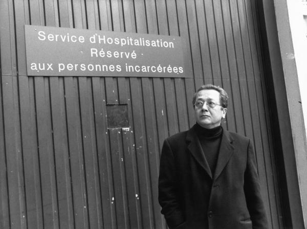 [Instruction du Procès Klaus Barbie : Jacques Vergès à l'hôpital Jules-Courmont]