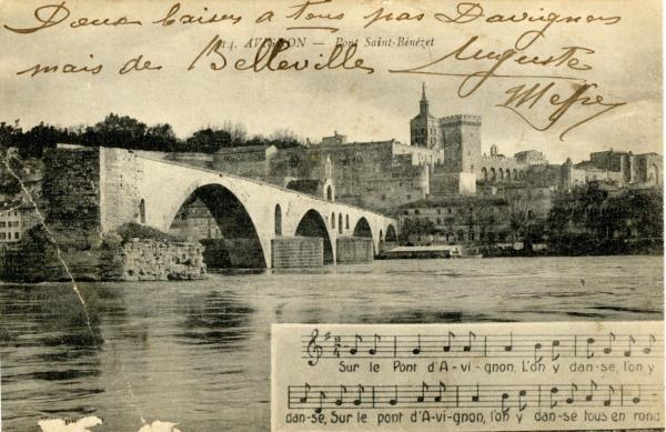 Avignon - Pont St-Bénézet