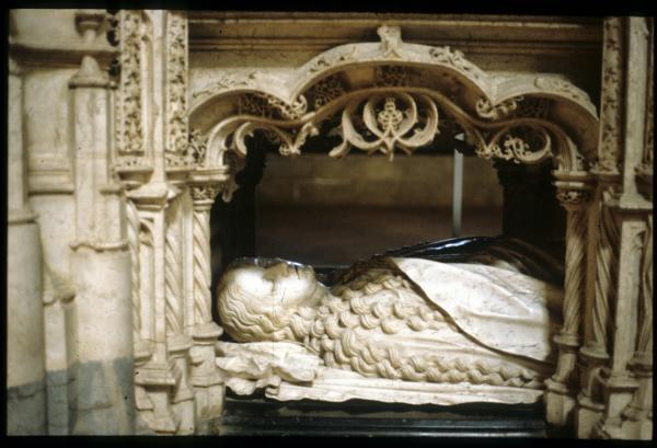 [Bourg-en-Bresse (Ain) : monastère royal de Brou, l'étage inférieur du tombeau Marguerite d'Autriche]