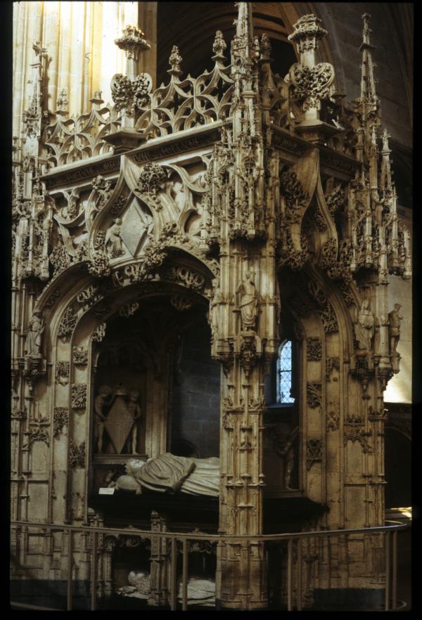 [Le tombeau Marguerite d'Autriche, monastère royal de Brou, Bourg-en-Bresse]