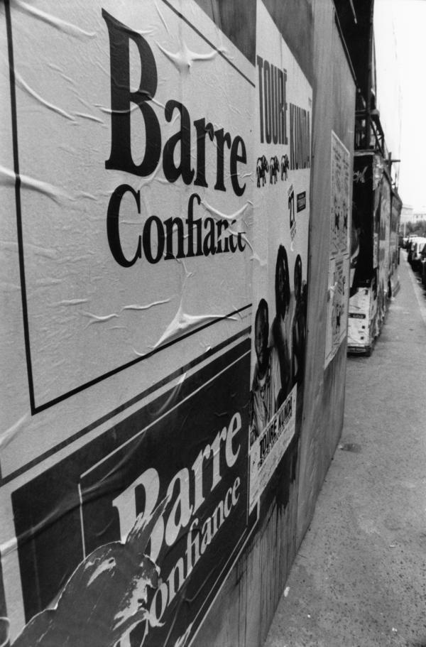 [Election présidentielle de 1988 : affiche électorale du candidat Raymond Barre]