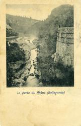 La Perte du Rhône (Bellegarde)