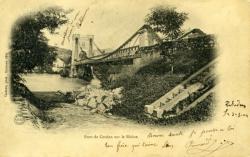 Pont de Cordon sur le Rhône.