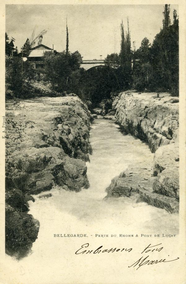 Bellegarde - Perte du Rhône & Pont de Luçay.